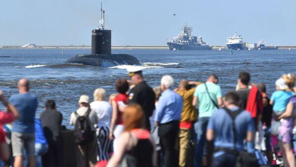 La Armada rusa se prepara para celebrar su gran día - Sputnik Mundo