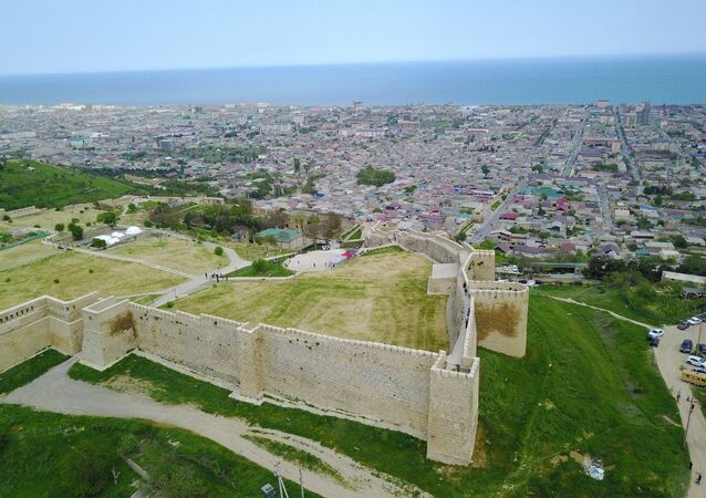 La fortaleza de Narín-Kalá, en Derbent, Daguestán