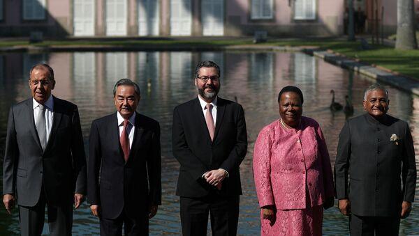 Los cancilleres de los BRICS - Sputnik Mundo