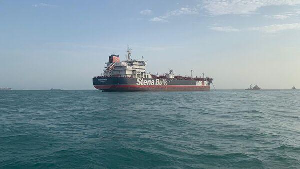 Petrolero británico Stena Impero - Sputnik Mundo