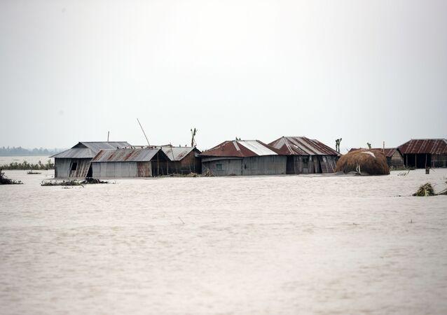 Inundaciones en Bangladés