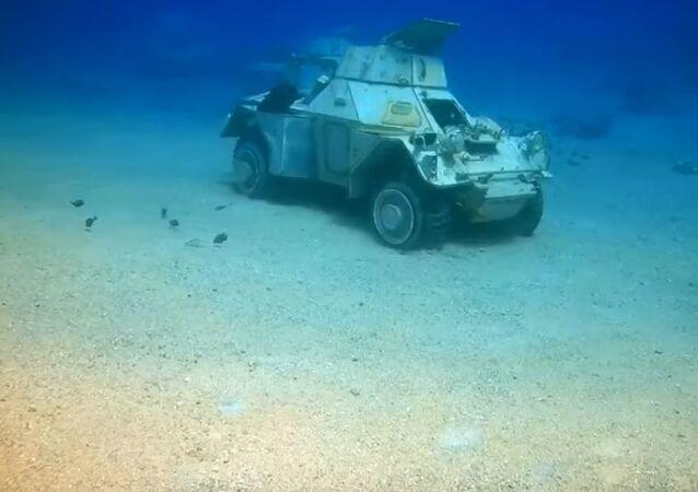 Museo subacuático en Jordania