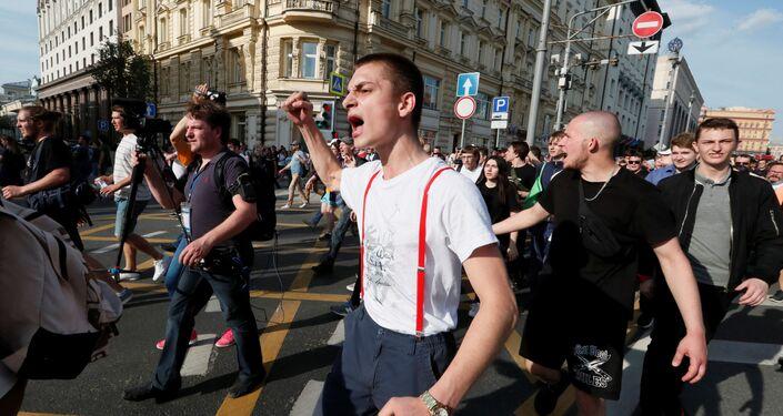 Protestas en Moscú del 27 de julio de 2019