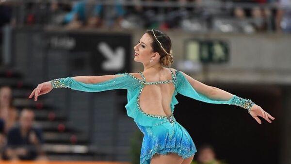 Bruna Wurts, patinadora argentina - Sputnik Mundo