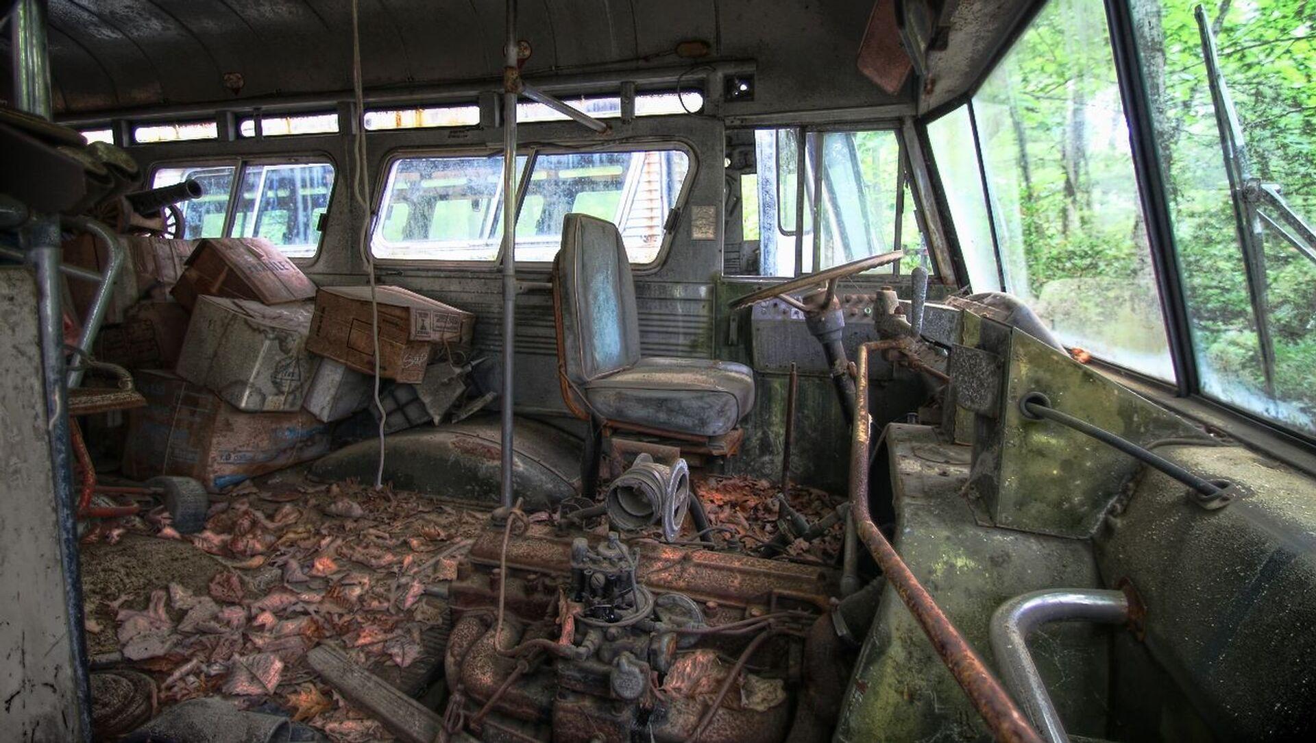 Un autobús abandonado, imagen referencial - Sputnik Mundo, 1920, 28.07.2019
