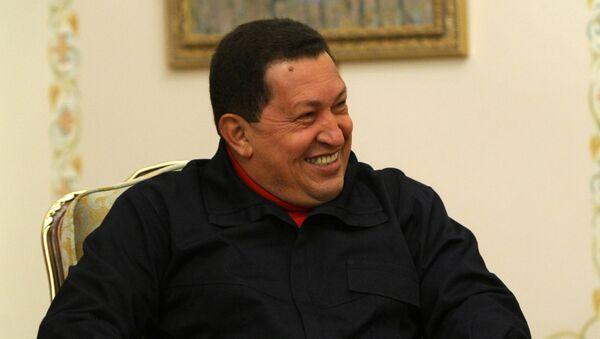 Hugo Chávez, expresidente de Venezuela, durante su visita a Rusia en 2010 - Sputnik Mundo