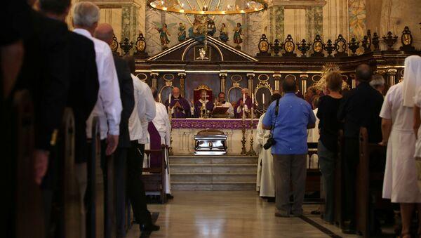 Misa de exequias al cardenal Jaime Ortega - Sputnik Mundo