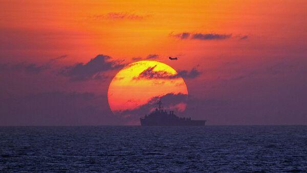 Un buque (imagen referencial) - Sputnik Mundo
