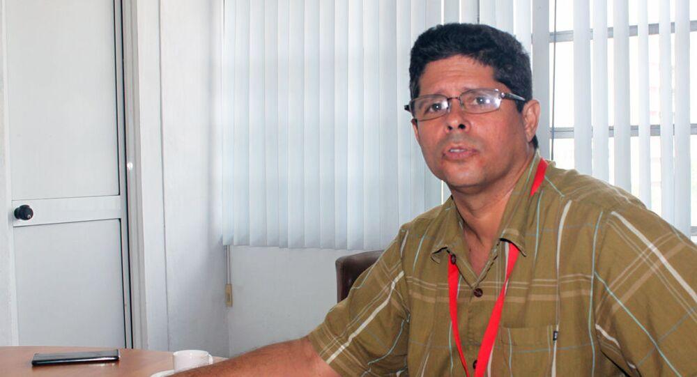 Pablo Julio Pla, director general de Comunicaciones del Ministerio de Comunicaciones de Cuba