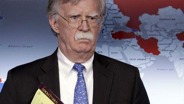 John Bolton, exasesor de Seguridad Nacional de EEUU (archivo) - Sputnik Mundo