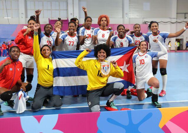 Selección femenina de Cuba de balonmano