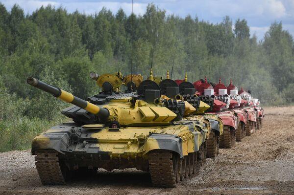 Veinticinco países preparan sus tanques para los Army 2019 - Sputnik Mundo
