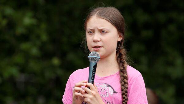Greta Thunberg, activista medioambiental sueca (archivo) - Sputnik Mundo