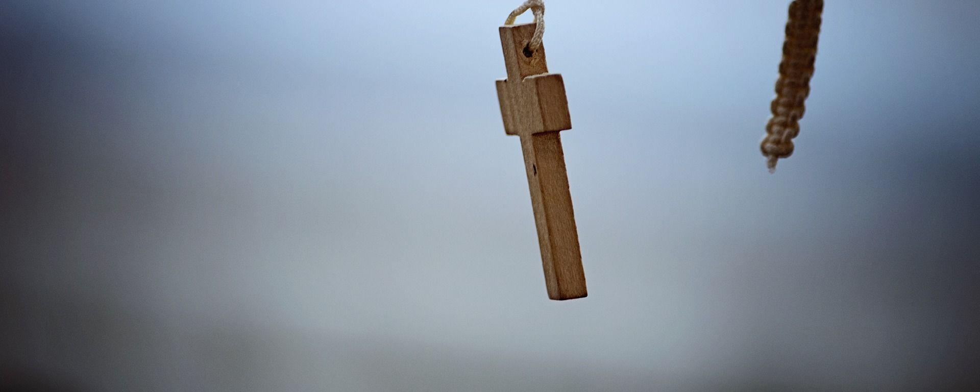 Una cruz católica  - Sputnik Mundo, 1920, 23.06.2021