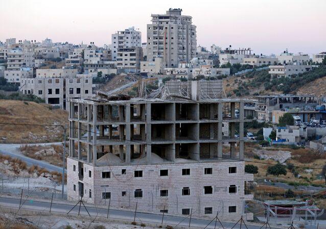 Las viviendas en Cisjordania (archivo)