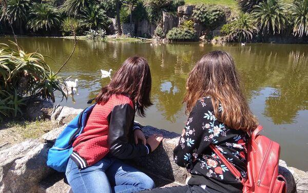 En el Parque Rodó de la capital uruguaya - Sputnik Mundo
