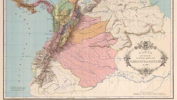 Virreinato de Nueva Granada o de Santafé - Sputnik Mundo