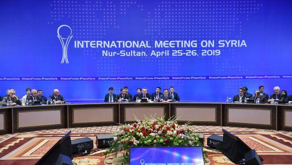 Negociaciones acerca de Siria en formato de Astaná - Sputnik Mundo