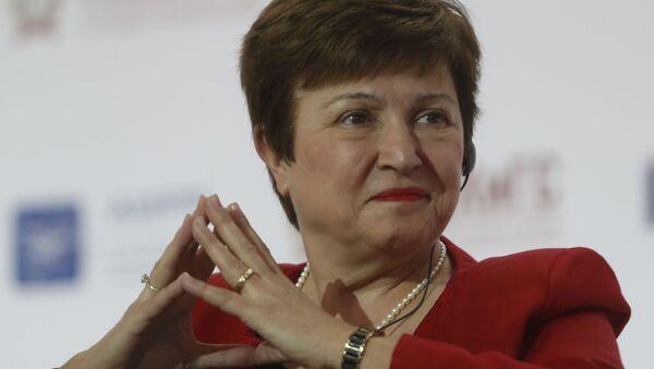 La economista búlgara Kristalina Georgieva - Sputnik Mundo
