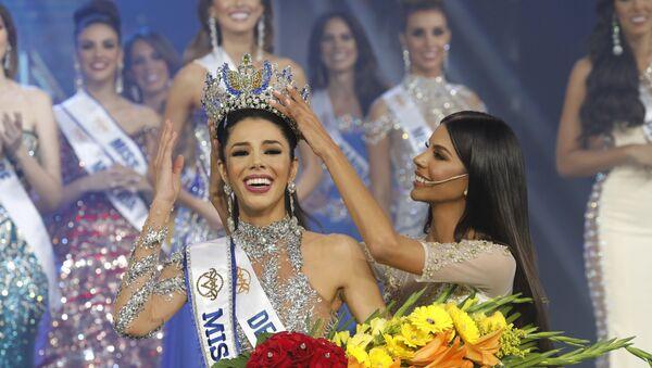 Thalia Olvino, Miss Venezuela 2019 - Sputnik Mundo