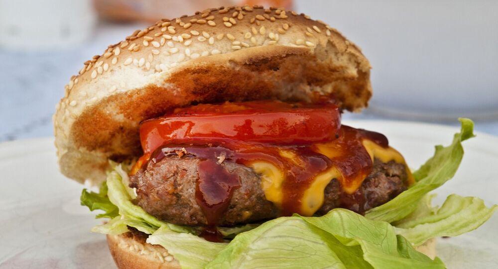 Pan de hamburguesa con sesamo