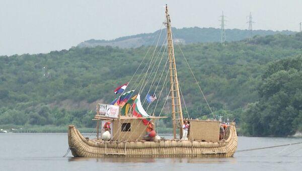 Barco de caña Abora IV  - Sputnik Mundo