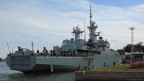El buque finlandés Hameenmaa en una imagen de archivo - Sputnik Mundo