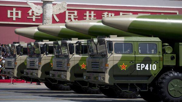 Los misiles chinos Dongfeng-26  - Sputnik Mundo
