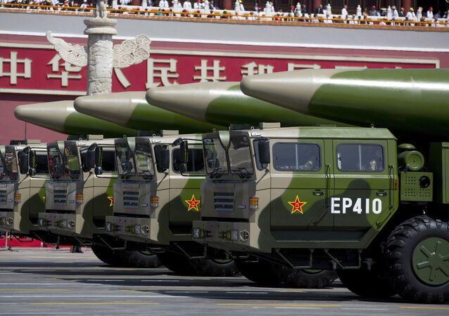 Los misiles chinos Dongfeng-26