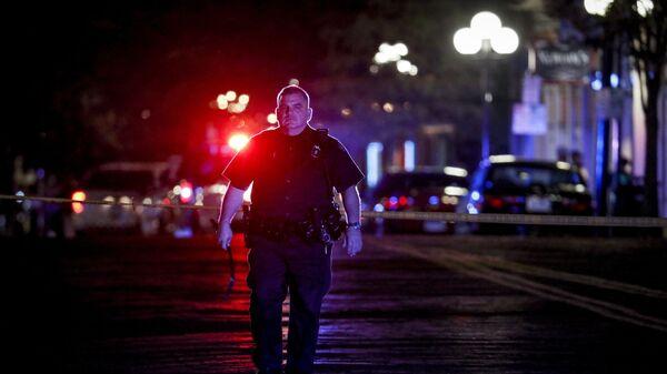 La Policía de EEUU (imagen referencial) - Sputnik Mundo