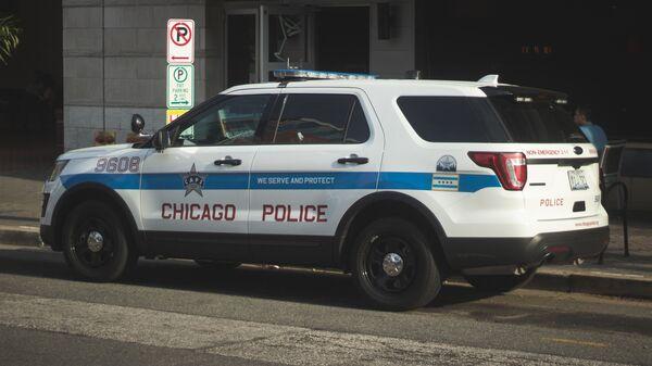 Coche de la Policía de Chicago, EEUU - Sputnik Mundo