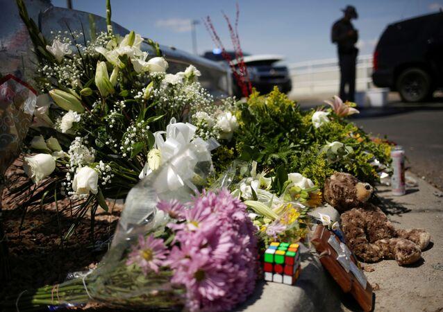 El lugar del tiroteo en El Paso (archivo)