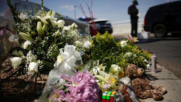 El lugar del tiroteo en El Paso - Sputnik Mundo