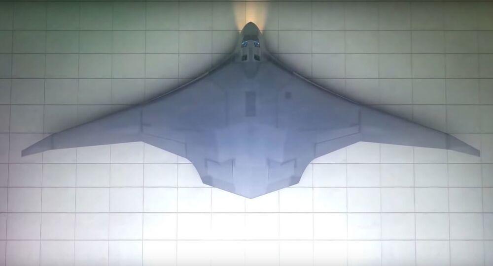 Bombardero ruso PAK DA