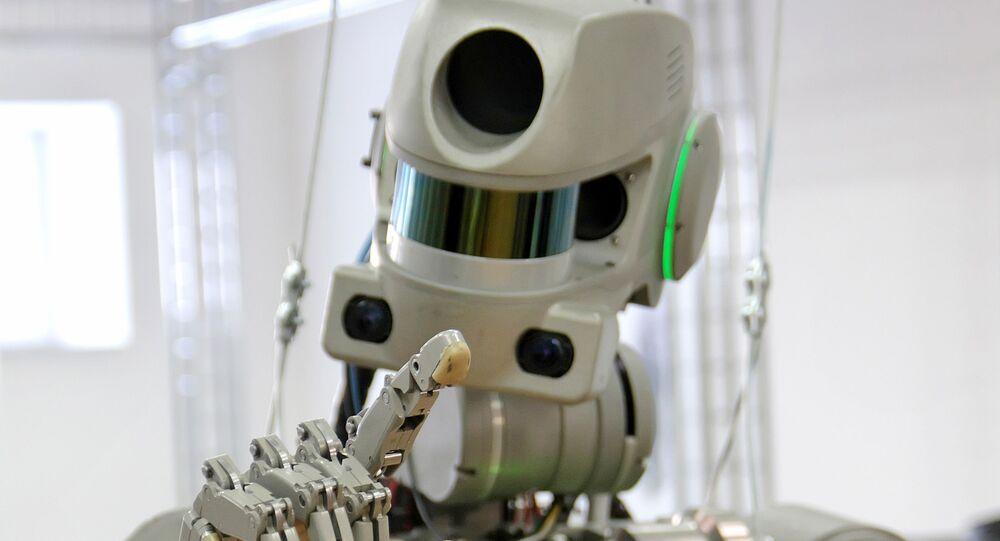 El robot Fedor