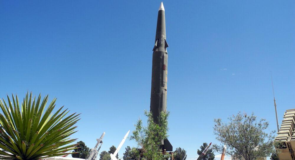 Pershing II, un misil estadounidense