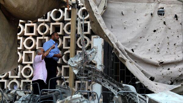 Explosión en El Cairo  - Sputnik Mundo