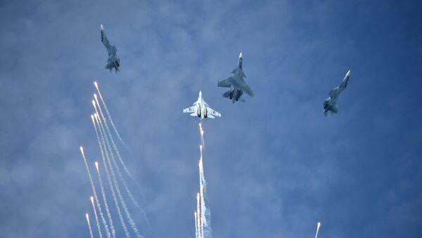 Concurso de aviones militares Aviadarts 2019 - Sputnik Mundo