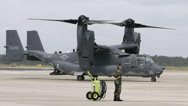 Un CV-22 Osprey en la Base Aérea MacDill - Sputnik Mundo
