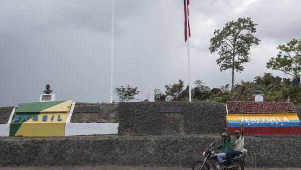 Frontera entre Brasil y Venezuela - Sputnik Mundo