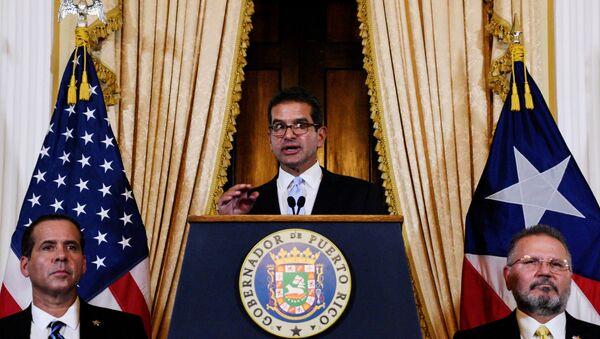 Pedro Pierluisi, gobernador de Puerto Rico - Sputnik Mundo