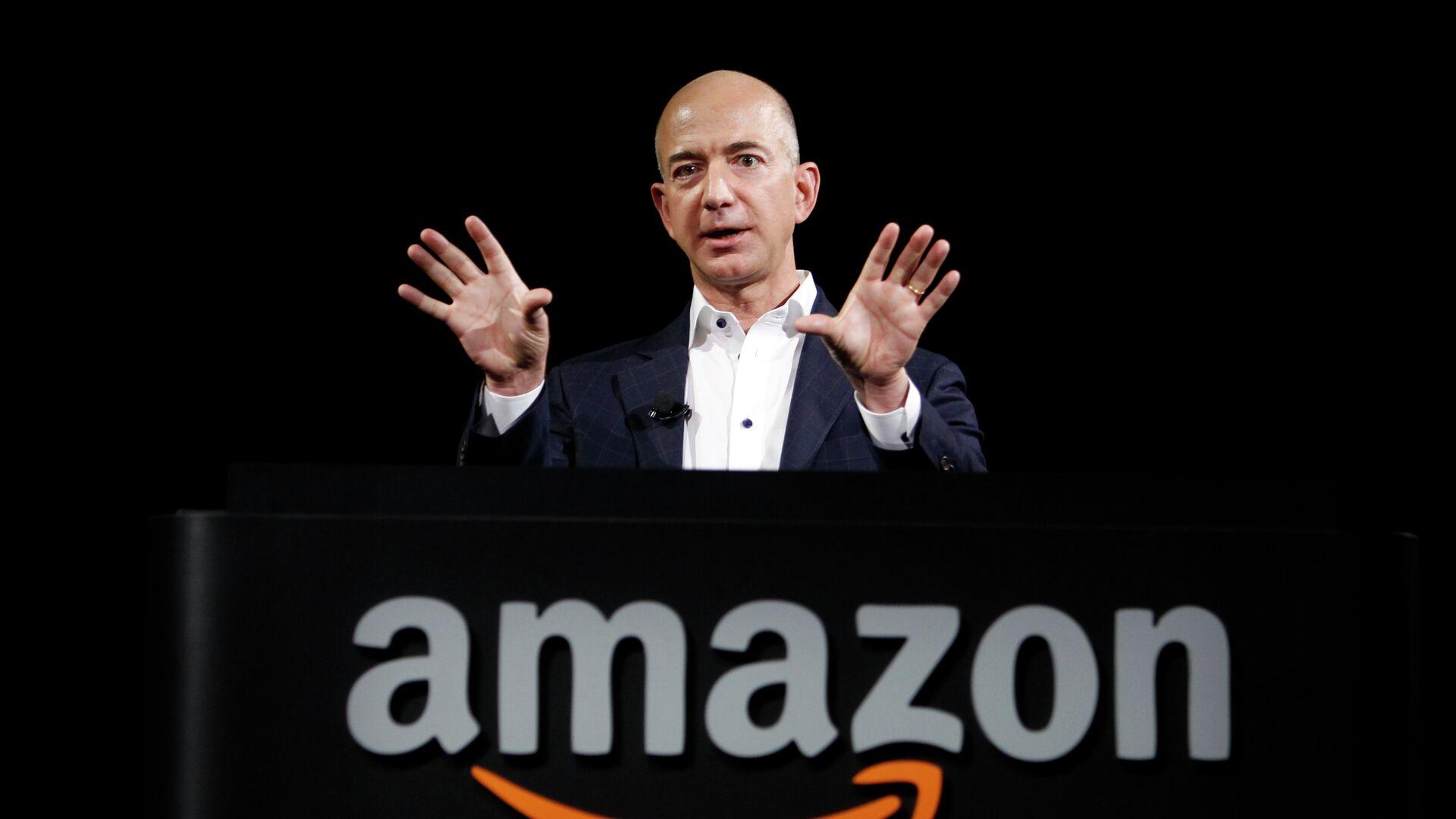 Jeff Bezos, fundador de Amazon - Sputnik Mundo, 1920, 06.07.2021