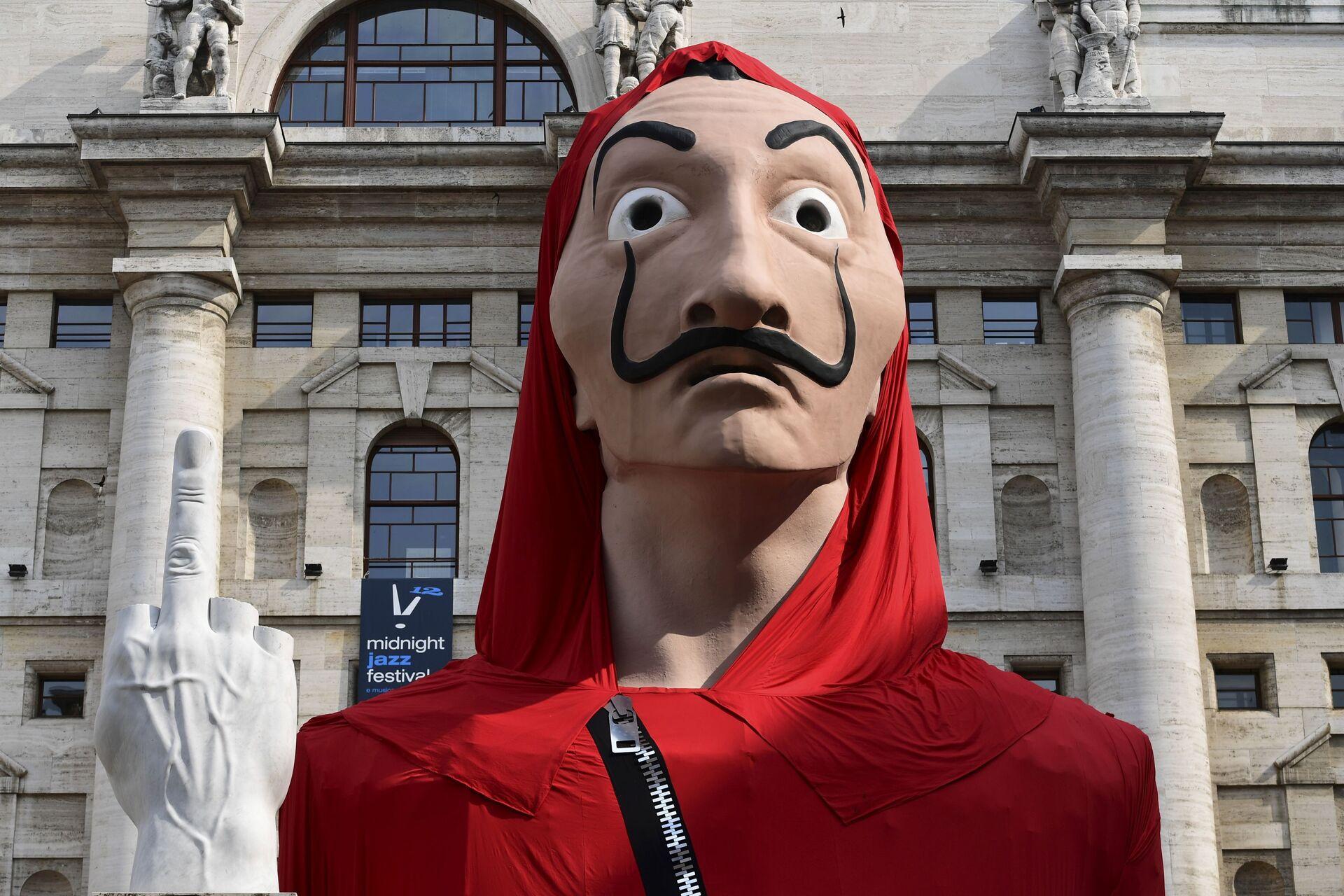 La máscara de Dalí popularizada por la serie 'La casa de papel' - Sputnik Mundo, 1920, 03.09.2021