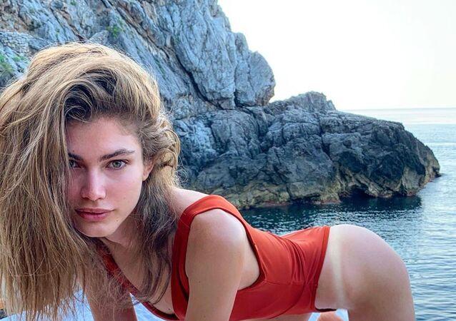 Valentina Sampaio, modelo transgénero de Victoria's Secret