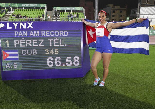Yaimé Pérez, atleta cubana