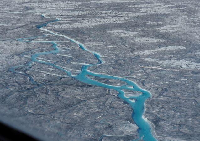 El deshielo en Groenlandia