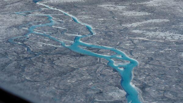 El deshielo en Groenlandia - Sputnik Mundo