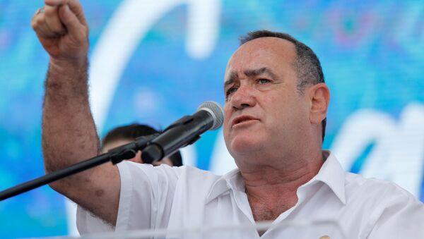 Alejandro Giammattei, presidente de Guatemala - Sputnik Mundo