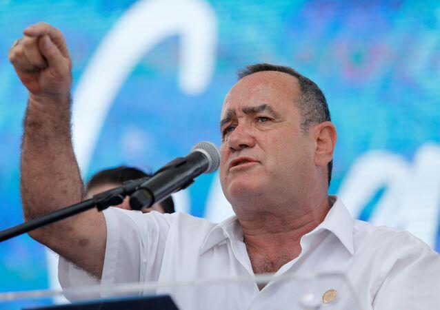Alejandro Giammattei, presidente de Guatemala (archivo)