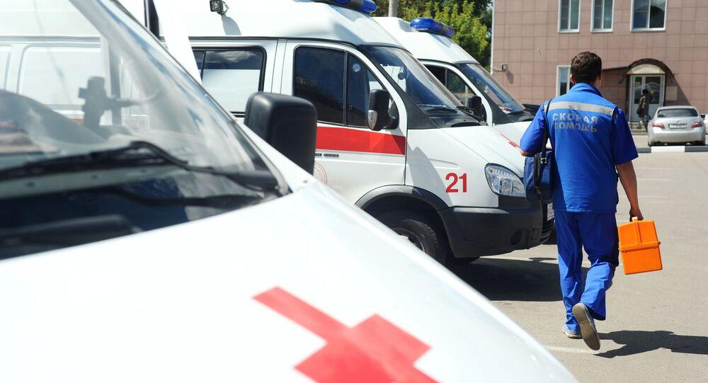 La ambulancia de Rusia (imagen referencial)